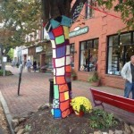 Yarn Bomb at Chestertown